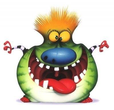 Monstre gentil - Images de monstres rigolos ...