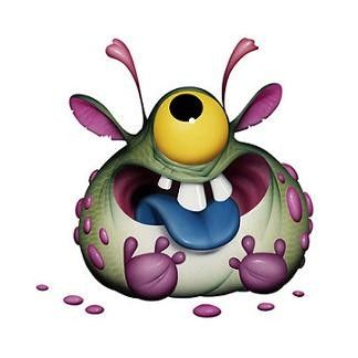 Monstre rigolo color - Images de monstres rigolos ...